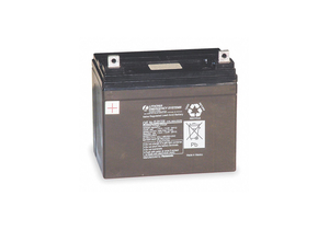 BATTERY SEALED LEAD ACID 12V 28A/HR. by Lithonia Lighting