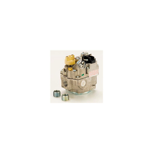 """GAS VALVE - 1/2"""" INLET, STRAIGHT-THRU SIDE OUTLETS, 3.5"""" W.C. NAT. GAS by Robertshaw"""