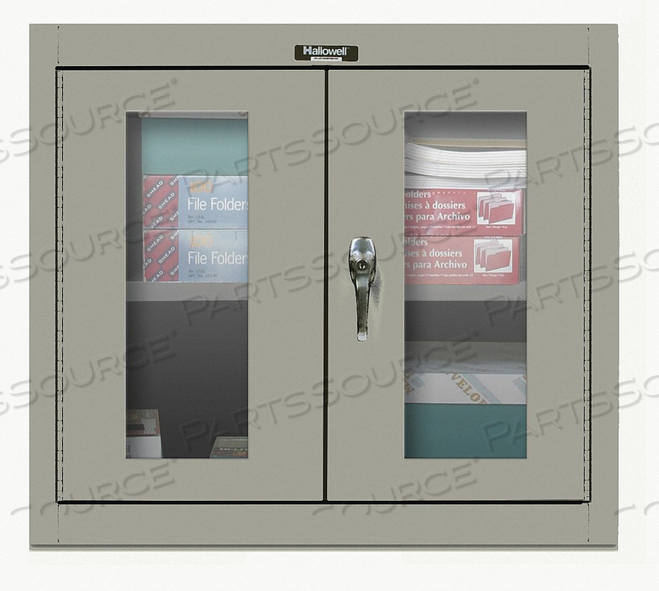 G6783 WALL CABINET 30 H 36 W GRAY by Hallowell