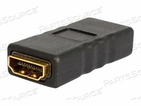 STARTECH.COM HDMI COUPLER / GENDER CHANGER - F/F - HDMI GENDER CHANGER - HDMI TYPE A (F) TO HDMI TYPE A (F) - BLACK by StarTech.com Ltd.