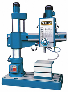 RADIAL FLOOR DRILL PRESS 220V 4MT by Baileigh Industrial