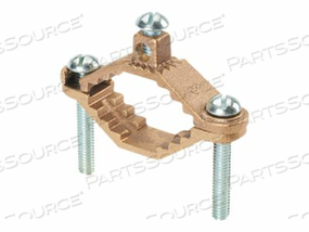 PANDUIT STRUCTURED GROUND MECHANICAL CONNECTORS BRONZE GROUND CLAMP, HEAVY DUTY BASE - GROUNDING CLAMP KIT by Panduit