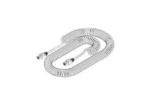 BLACK JACKET COILED CORD by Replacement Parts Industries (RPI)