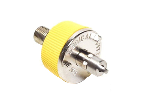 QUICK CONNECT ADAPTER, DISS MALE, YELLOW, AIR by Precision Medical, Inc.