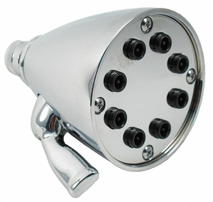 SHOWER HEAD POLISHED CHROME 3-1/2 IN DIA by Trident