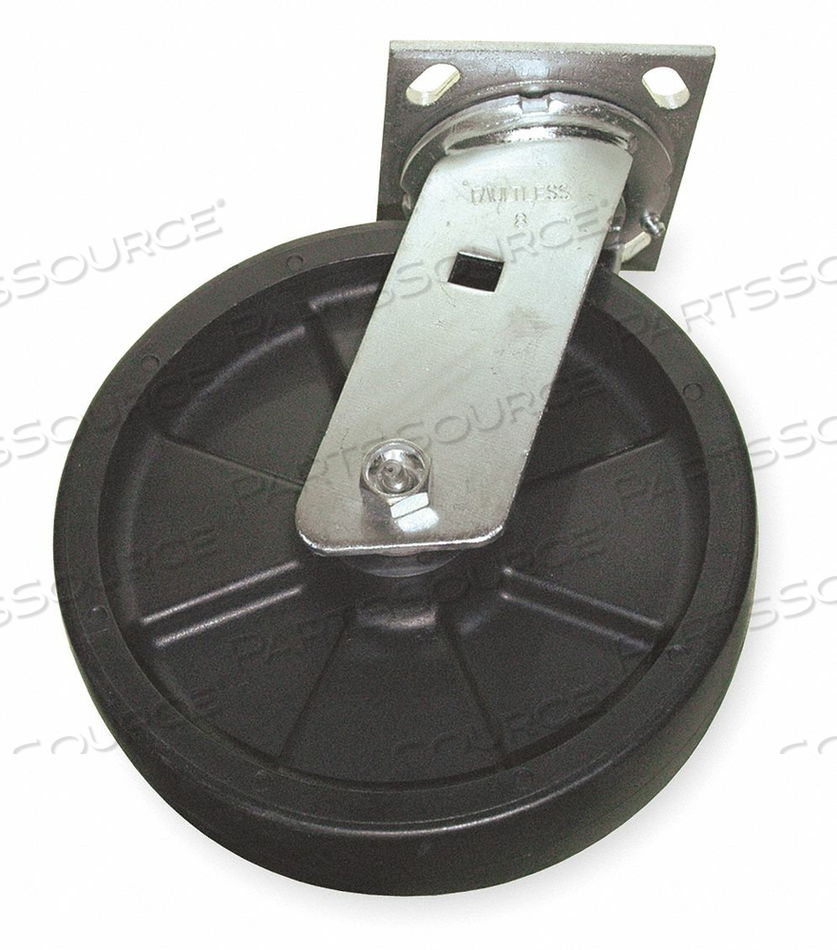 SWIVEL CASTER FOR 5M703 5Z092 3LU70 by Rubbermaid Medical Division
