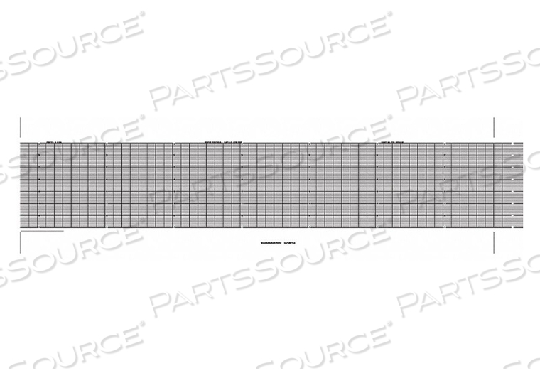 STRIP CHART FANFOLD RANGE 0 TO 14 53 FT by Graphic Controls, LLC