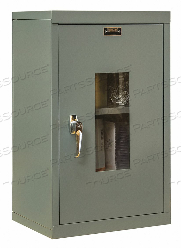 G6780 WALL CABINET 26 H 16 W GRAY by Hallowell
