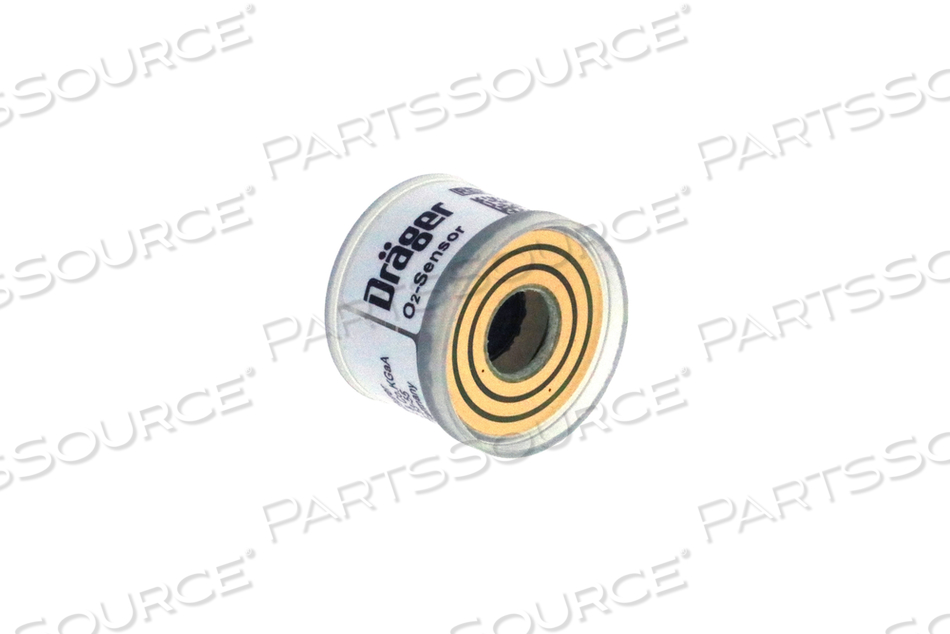 OXYGEN SENSOR, 1.16 IN DIA, GOLD PLATED SLIP RING, 0 TO 100%, WHITE, CLEAR, 14 TO 20 MV SIGNAL OUTPUT, 700 TO 1250 MBAR PRESSURE, 12 SEC RESPONSE