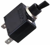 MAGNETIC CIRCUIT BREAKER, 7 A, 65 VDC/250 VAC, PANEL MOUNTING, UL, ON/OFF SWITCH, MEETS UL by Digi-Key