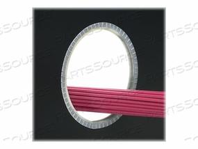 PANDUIT SLOTTED GROMMET EDGING - CABLE GROMMET EDGING - 100 FT - BLACK by Panduit