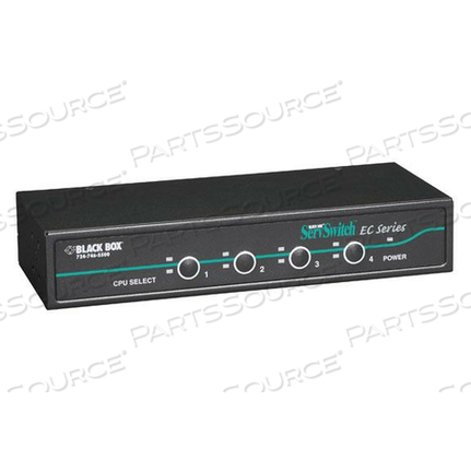 KVM SWITCH 4-PORT PS/2 OR USB SERVERS & USB CONSOLES by Black Box Network Services