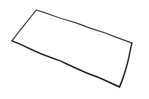 REPLACEMENT MAGNETIC DOOR GASKET by Blickman