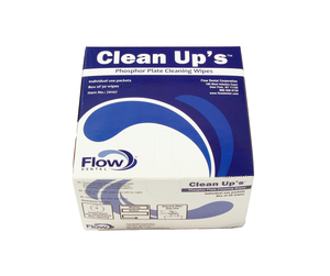 CLEAN-UP'S PSP CLEANING WIPE- INDIVIDUALLY WRAPPED, SINGLE-USE DISPOSABLE WIPES FOR PHOSPHOR PLATE, 50 PACKETS/BOX. by RC Imaging (Formerly Rochester Cassette)