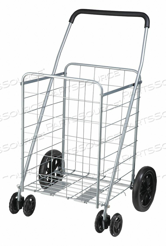 DUAL WHEEL ROLLING UTILITY CART by Honey-Can-Do