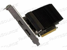 ADVANTECH GT1030 - GRAPHICS CARD - GF GT 1030 - 2 GB GDDR5 - PCIE 3.0 X16 - HDMI, DISPLAYPORT - FANLESS