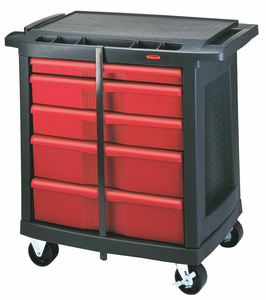 MOBILE CAB BENCH PLSTC 32-5/8 W by Rubbermaid Medical Division