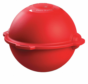 MARKER BALL POLYPROPYLENE RED by Tempo Communications