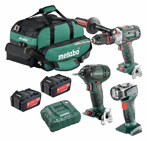 CORDLESS COMBINATION KIT 18.0V 3 TOOLS by Metabo