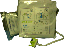 CPR-D-PADZ ONE PIECE ELECTRODE PAD WITH REAL CPR HELP by ZOLL Medical Corporation