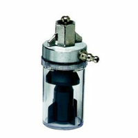 OVERFLOW SAFETY TRAP WITH DISS WING NUT AND GLAND by Ohio Medical, LLC