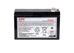 UPS BATTERY, SEALED LEAD ACID, 12V, 8.5 AH by APC / American Power Conversion