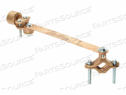 PANDUIT STRUCTURED GROUND MECHANICAL CONNECTORS BRONZE GROUND CLAMP FOR CONDUIT WITH STRAP AND GUILLOTINE - GROUNDING CLAMP KIT by Panduit