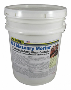 MASONRY MORTAR JOINT FILLERS GRAY by JE Tomes