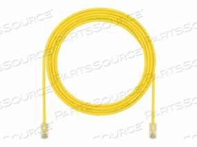 PANDUIT TX5E-28 CATEGORY 5E PERFORMANCE - PATCH CABLE - RJ-45 (M) TO RJ-45 (M) - 18 FT - UTP - CAT 5E - IEEE 802.3AF/IEEE 802.3AT - HALOGEN-FREE, SNAGLESS, STRANDED - YELLOW - (QTY PER PACK: 25) by Panduit