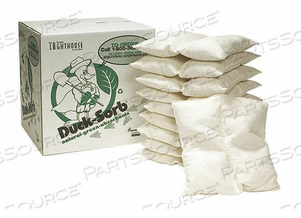 ABSORBENT PILLOW 18 L 18 W WHITE PK10 by Ability One