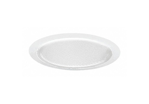 SLOPED RECESSED TRIM 6IN WHITE BAFFLE by Juno Lighting Group