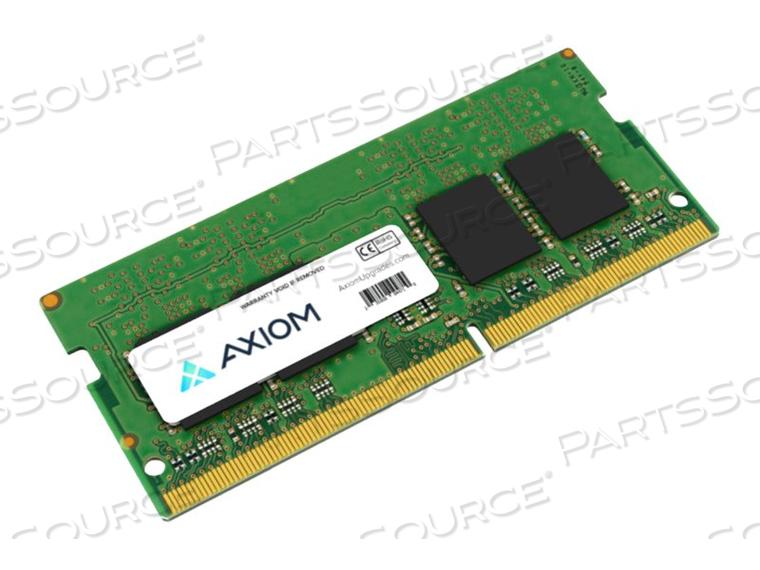 AXIOM AX - DDR4 - 4 GB - SO-DIMM 260-PIN - 2400 MHZ / PC4-19200 - CL17 - 1.2 V - UNBUFFERED - NON-ECC - FOR HP ELITEBOOK 735 G5, 745 G5, 755 G5, 840R G4, PROBOOK 450 G6, 64X G4, 650 G4, ZBOOK 15U G5 by Axiom