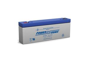 BATTERY, SEALED LEAD ACID, 12V, 2.5 AH, FASTON (F1) by R&D Batteries, Inc.