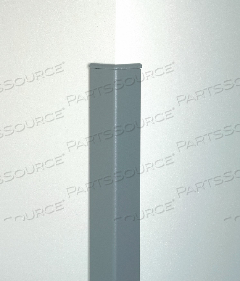 CORNER GUARD 2 X 48 IN BLACK SMOOTH by Pawling Corp