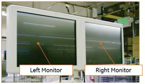 LEFT AND RIGHT MONITOR UPGRADE SET, 19 IN by OEC Medical Systems (GE Healthcare)