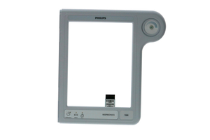 REPLACEMENT FRONT BEZEL, GRAY, ENGLISH by Philips Healthcare (Parts)