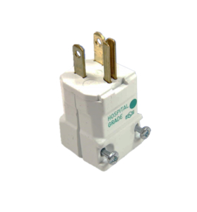 125V HOSPITAL GRADE VALISE CABLE PLUG by Hubbell Power Systems