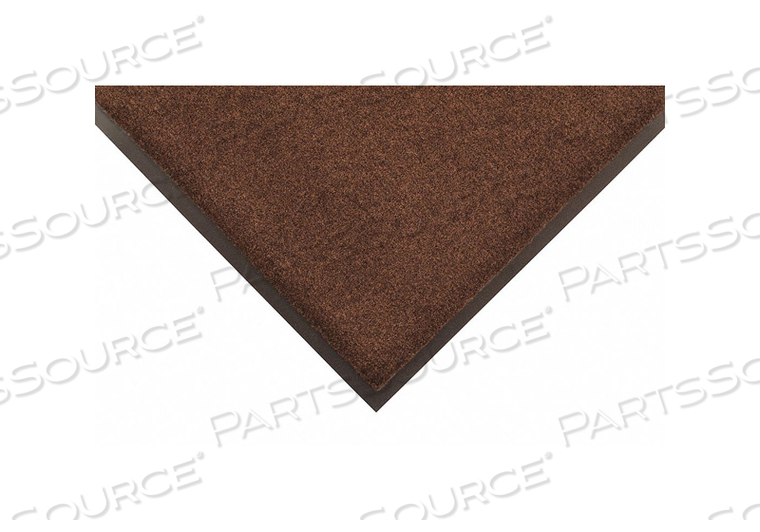 H6183 CARPETED ENTRANCE MAT BLACK/BROWN 4X6FT by Condor