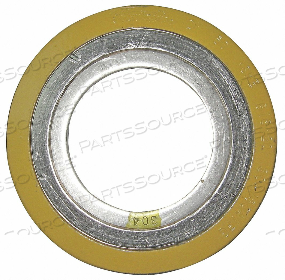 SPIRAL WOUND METAL GASKET 1/2 IN 304SS by Flexitallic