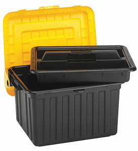 ATTACHED LID CONTAINER 23-5/8 LX19 W by Durabilt