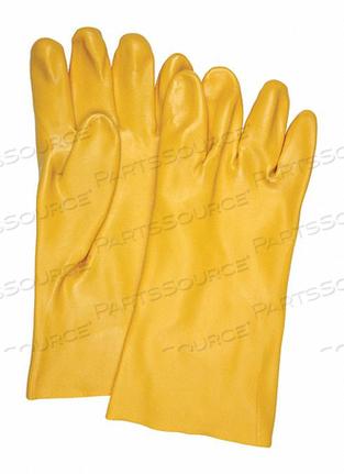 YELLOW PVC SMOOTH INTERLOCK LIN L PK12 by MCR Safety