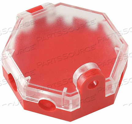 PNEUMATIC LOCKOUT RED 1 PADLOCK by Condor