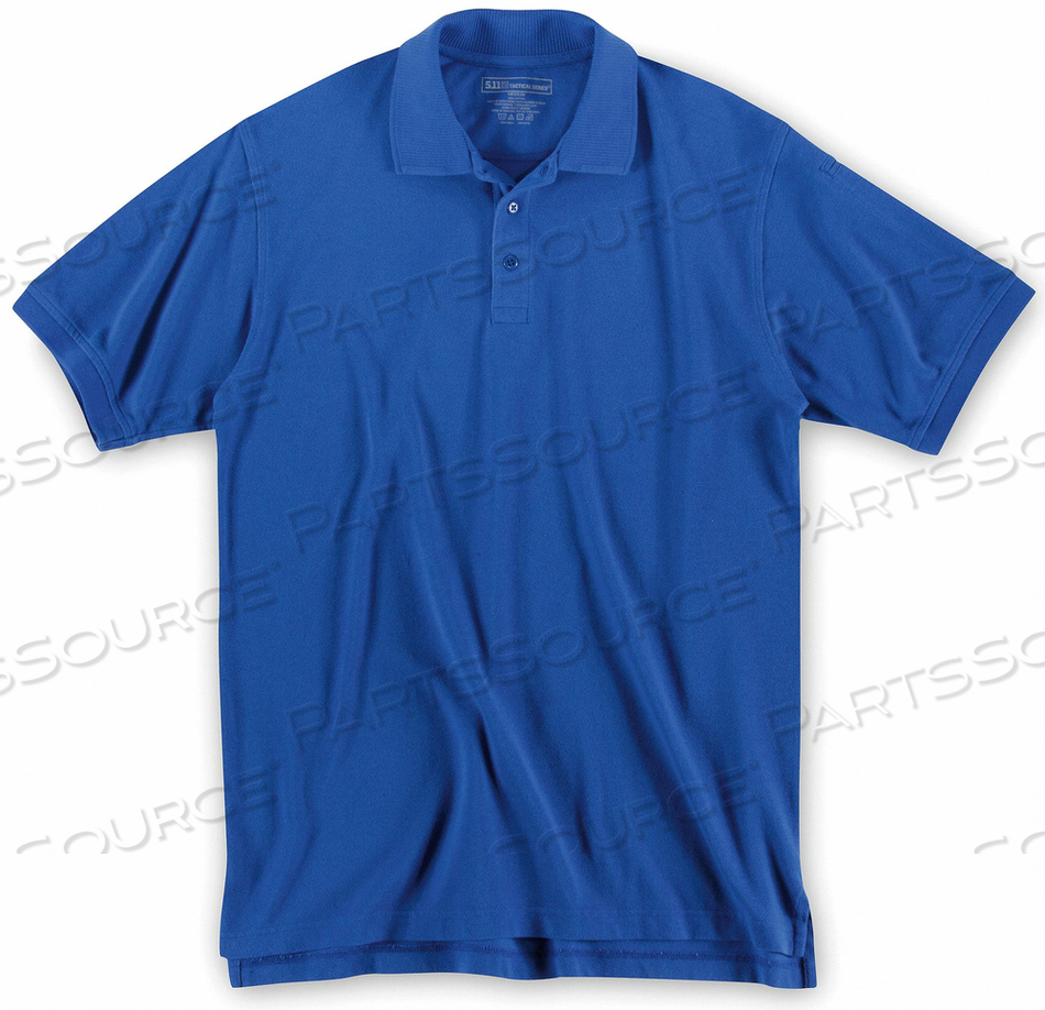 SHORT SLV UTILITY POLO 4XL ACADEMY BLUE by 5.11 Tactical