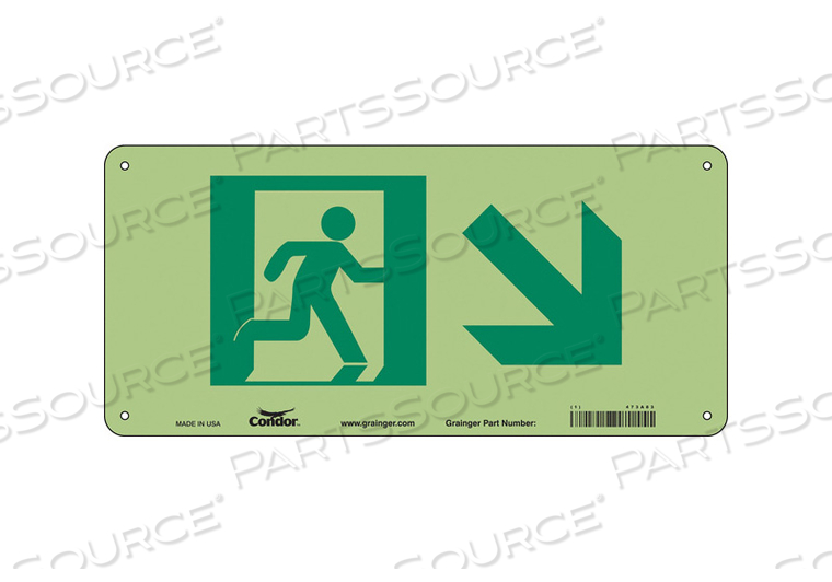 SAFETY SIGN 14 W 5 H 0.040 THICKNESS by Condor