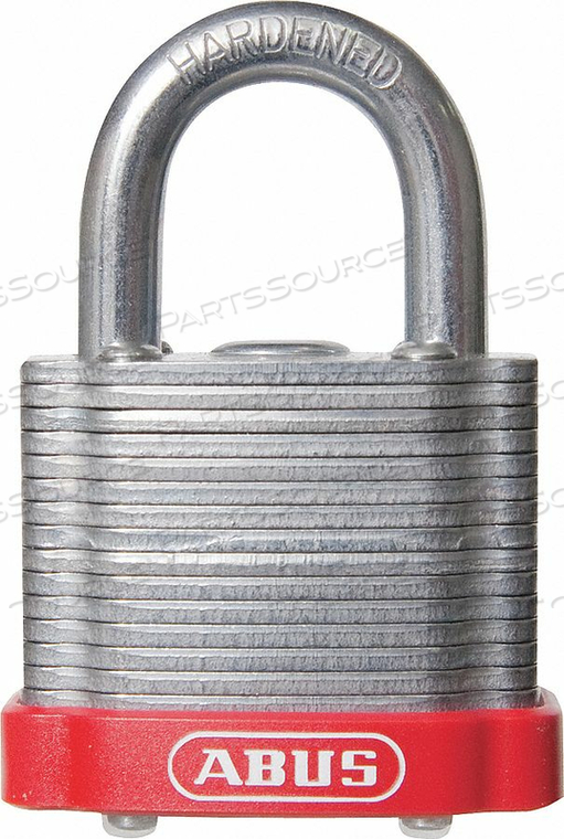 D8954 LOCKOUT PADLOCK KD MK RED 1-3/8 H by Abus