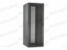 PANDUIT NET-ACCESS N-TYPE CABINET - RACK WITH TOP CABLE PATHWAY - BLACK - 45U by Panduit