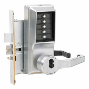 PUSH BUTTON LOCKSET 8000 RIGHT LEVER by Kaba