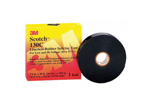 SPLICING TAPE 30 MIL 1 X 30 FT. BLACK by 3M Consumer