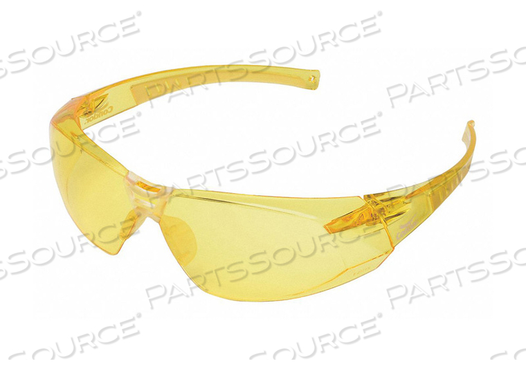 SAFETY GLASSES AMBER by Condor