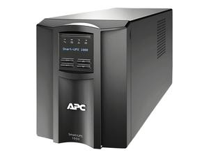 1000VA 700W NEMA 5-15P - 5-15R SMART UPS WITH SMARTCONNECT - BLACK by APC / American Power Conversion